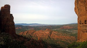 The view from Cathedral Rock.