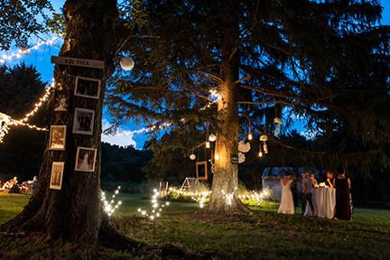 Wedding night at the Farmette